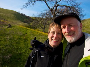 Anne & Rick in the Columbia River Gorge